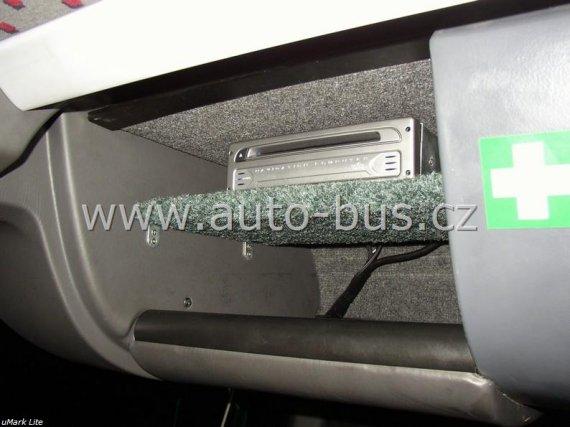 Instalace navigačního systému, napájení 220V