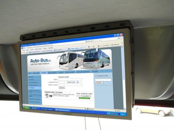 Instalace připojení notebooku na LCD monitory